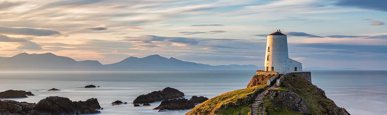 Anglesey, Llanddwyn Island scenic view