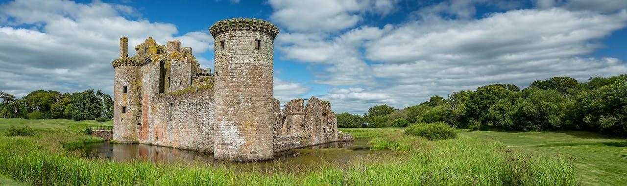 Dumfries and Galloway, Caerlaverock Castle