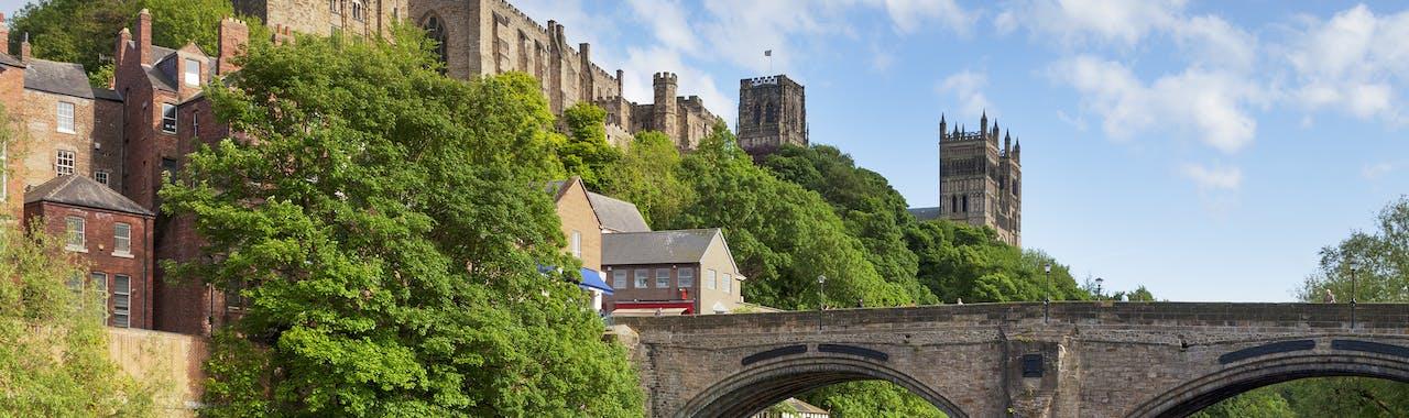 Durham Castle and Cathedral Framwellgate Bridge