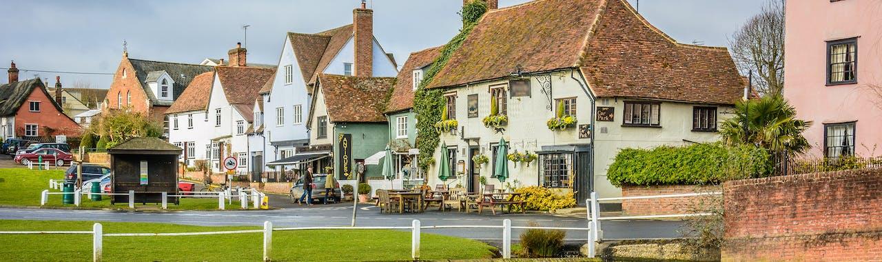 Essex, Finchingfield an old english village