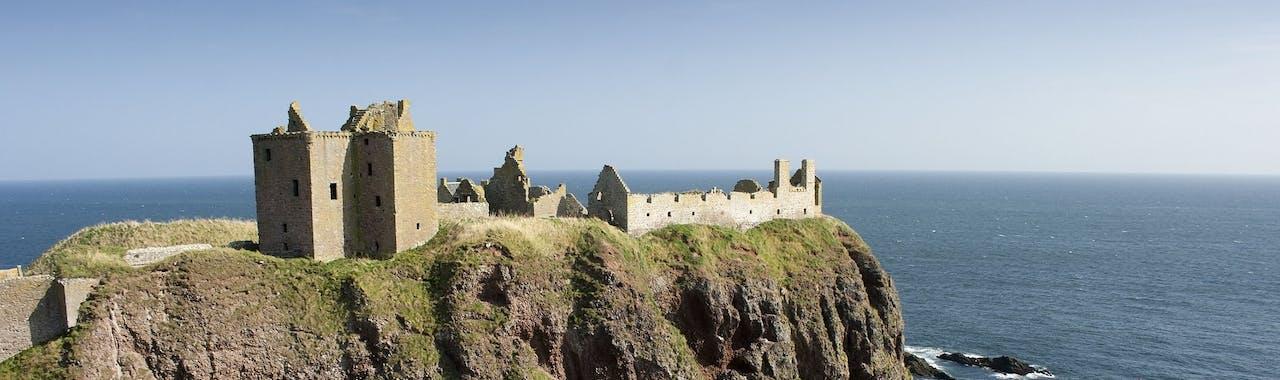 Grampian, Dunnottar Castle, near Stonehaven in Aberdeenshire
