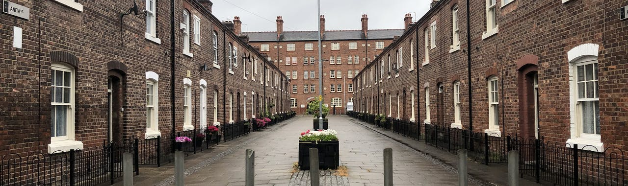 Manchester square in Northern Quarter