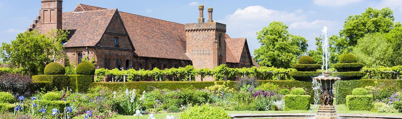 Hertfordshire, Hatfield House garden