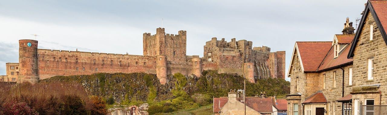 Northumberland, Bamburgh Castle
