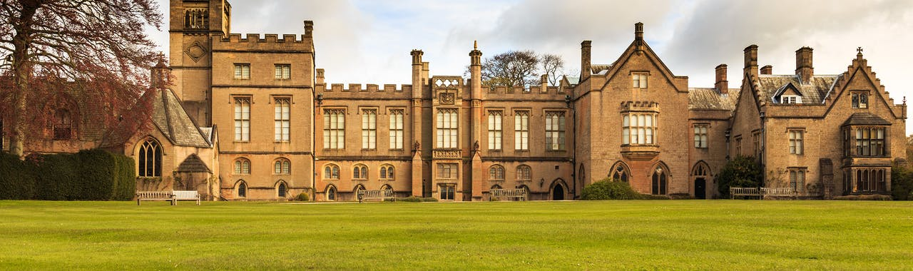 Nottinghamshire, Newstead Abbey, from the East side