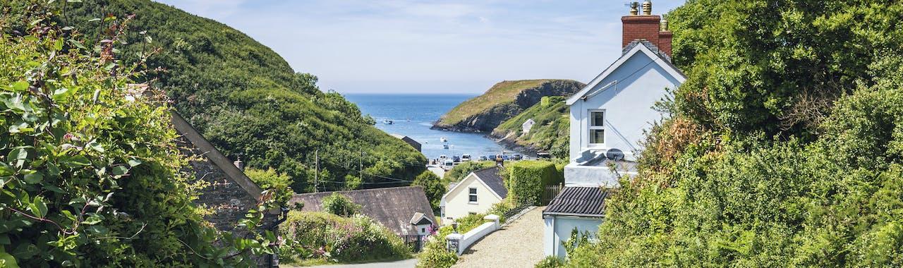 Pembrokeshire, Welsh Coastal Village