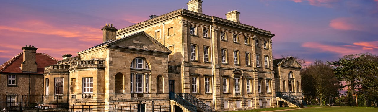 South-Yorkshire, 19th Century Stately Home, Brodsworth, South Yorkshire