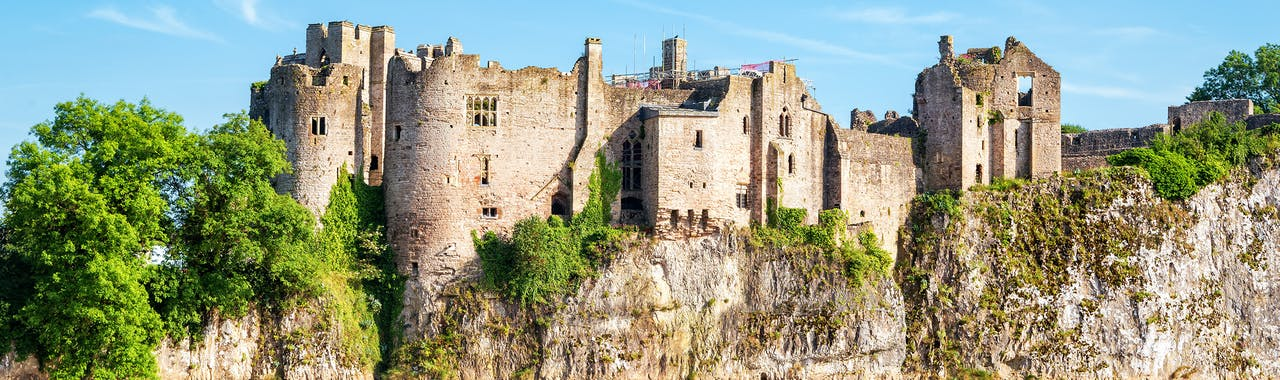Wales, Usk and Wye Valleys, Chepstow Castle